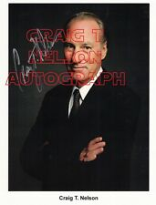 Craig T. Nelson Autographed 8x10 color still given to us by his publicist