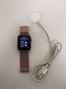 Apple Watch Series 3 GPS+LTE w/ 38MM Gold Aluminum Case