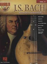 JS Bach Mandolino play-along VOL 4 Scheda Libro di Musica & tracce di supporto CD