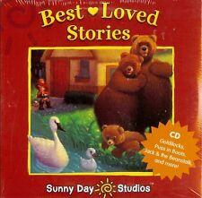 Best loved Stories CD Goldilocks, Puss In Boots, Jack & The Beanstalk Kids Music