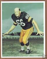 VINTAGE 8x10 Color Photo of Ray Nitschke - Green Bay Packers - Hall of Fame !!!