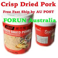 Crisp Shredded Dried Pork No MSG 454g (猪肉酥,肉松)-Free Fast Ship by Au POST