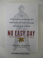 No Easy Day The Autobiography Of A Navy Seal--Osama Bin Laden Account
