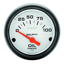 Autometer 5727 Phantom Oil Pressure Gauge, 2-1/16 in., Electrical