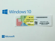 Microsoft Windows 10 Home COA  Sticker / Label 32 & 64 bit
