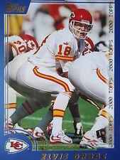 NFL 53 Elvis Grbac Kansas City Chiefs Topps 2000