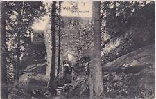 uralte AK, Waldstein Schlossruine, 1912