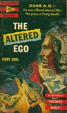 THE ALTERED EGO  by Jerry Sohl -- 1st Paperback Printing