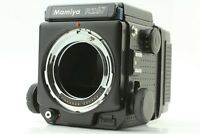 [MINT] Mamiya RZ67 Pro Body + Waist Level Finder + 120 Film Back From JAPAN 444