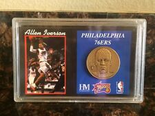 Allen Iverson Philadelphia 76ers The Highland Mint Limited Edition Coin  BIG3