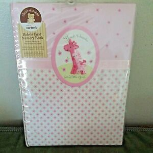 Baby's First 5 Years Memory Book Girl by Carters Thank Heaven for Little Girls