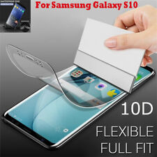 10D Full Cover Hydrogel Film Screen Protect For Samsung Note 10 Plus S10 S20 S8