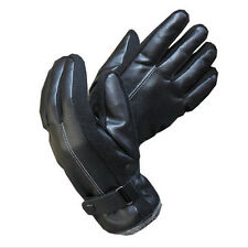 Mens Womens Fashion Winter Warm Waterproof Leather Gloves For Motorcycle Driving