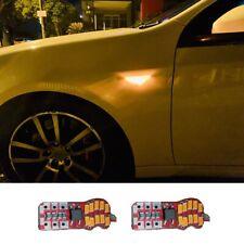 Super Bright T10 LED Amber Guard Indicators For Ford Falcon FG