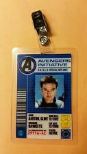 Avengers Initiative ID Badge -Hawkeye Clint Barton Cosplay prop costume