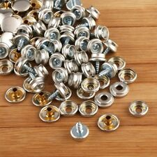 150PCS Stainless Steel Boat Marine Canvas Fabric Snap Cover Button & Socket Kit