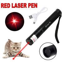 Long Range Red Laser Pen Cat Toy Pointer 650nm Visible Red Beam Lazer Light <1MW