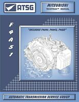 Mitsubishi Magna F4A51 V6 4 Speed ATSG Workshop Manual