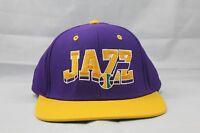 NBA HARDWOOD CLASSICS SNAPBACK HAT/CAP.  ADIDAS.  UTAH JAZZ.