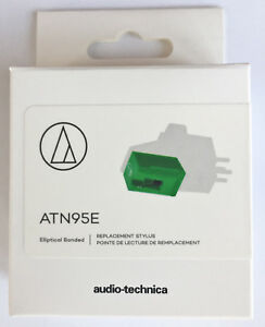 ATN95E Genuine replacement stylus for the Audio Technics AT-95E ~~ free postage