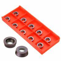10PCS RPMW1003MO VP15TF Tungsten Carbide Insert Milling Cutter Lathe Mill Tools