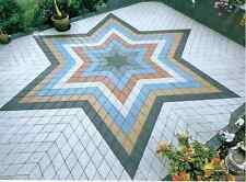 Cemento ad incastro pavimentazione giardino stampo soletta pavimento piastrelle mattoni