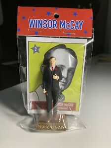 "Little Nemo Cartoonist WINSOR MCCAY 3"" figurine Resembles Marx Presidents Series"