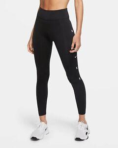 Nike One 7/8-Tights Highwaist in Größe M (CU5066-010) / wie NEU!