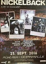 NICKELBACK  2016  MÜNCHEN  orig.Concert Poster - Konzert Plakat 118x84 cm