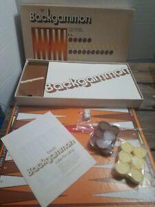 VINTAGE Whitman Backgammon Game 1974 Western Publishing Racine WI
