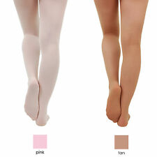 Silky Ladies Girls Footed Ballet Dance Tights Full Foot Seamless BFA