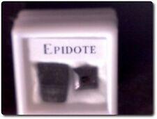 EPIDOTE + CRISTAL DE EPIDOTE Birmanie
