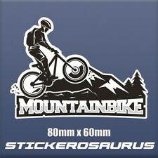 Mountainbike MTB BMX Bike Motorsport Car Bike Van Truck Sticker 80 x 60 S121