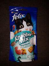 4x Felix Knabber Mix Strandspaß Katzensnack