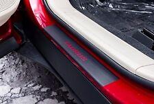 Door Sill Plate Protector Black Matte Vinyl fits Ford Taurus 2014 2015 2016 2017