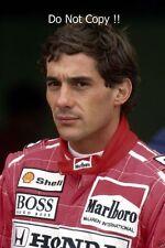 Ayrton Senna McLaren F1 Portrait 1990 Photograph