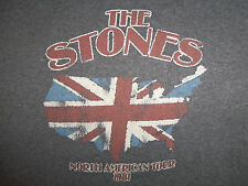 "Bravado ""The Stones"" Rolling Stones 1981 Tour Gray 52/48 Graphic T Shirt - M"