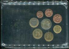 Monaco 2001 - KMS Prestige-Coinset avec Allen 8 Monnaie en Stgl. Complet Rare