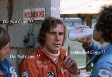 James Hunt Hesketh F1 Portrait British Grand Prix 1974 Photograph