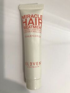 ELEVEN Miracle Hair Treatment 10ml Care Split Ends Frizz Colour Moisten x1 Tube