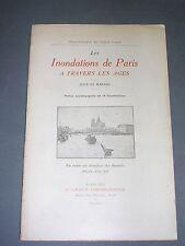 Les inondations de Paris à travers les ages (cité et marais) Callet 1910 ill.