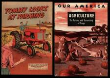 Promo Comic Book TOMMY LOOKS AT FARMING '60 Goodrich & AGRICULTURE Coca-Cola '49