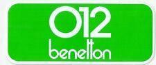Autocollant sticker benetton 012