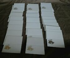 WEDDING RECEPTION PLACE CARDS (Silver Bell Design) x 30