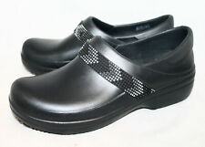 CROCS Neria Pro Embellished Clog 205833 Women's 11 Black
