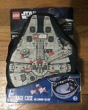 Lego Star Wars ZipBin Storage Carrying Case Play Mat Millenium Falcon NEW In Box