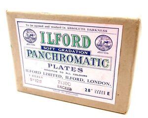 ILFORD SOFT GRADATION PANCHROMATIC FILM PLATE 9x12cm PACK of 12 - UK DEALER