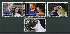 Bahamas 2018 MNH Prince Harry & Meghan Royal Wedding 4v Set Royalty Stamps
