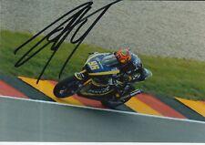 Louis Rossi mano firmado 7x5 Foto Tech 3 Moto 2 MotoGP 4.