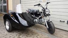 Honda Skyteam Dax 125cc E4 Mit Beiwagen Seitenwagen Strassenzulsg. au 50cc